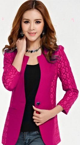 Women-Blazer-Solid-Color-Top-Fashion-Blazer-Suits-Single-Button-Coat-Work-Wear-For-Females-Office